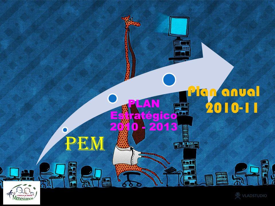 PEM PLAN Estratégico 2010 - 2013 Plan anual 2010-11