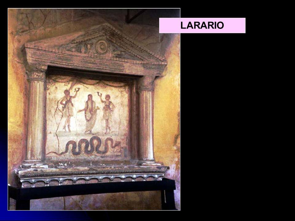 Lar de bronce, siglo ILararium