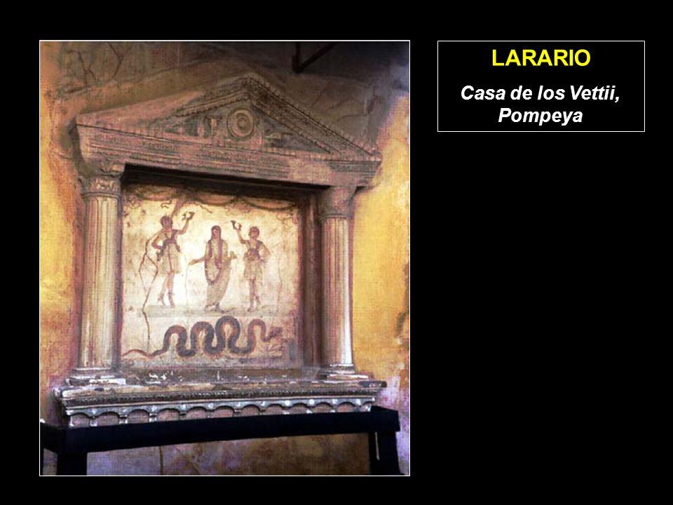 LARARIO Casa de los Vettii, Pompeya