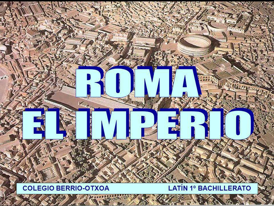 IMPERIO Tras la muerte de Julio César, su hijo adoptivo OCTAVIO, después de vencer a sus rivales en una guerra civil, se convirtió en el hombre más poderoso de Roma.