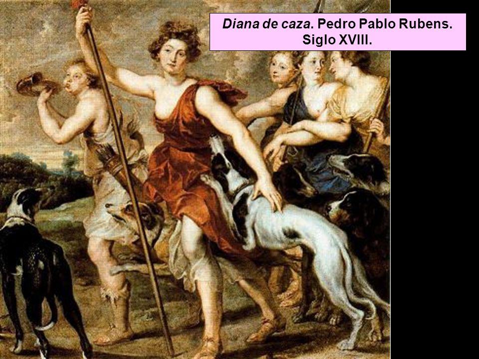 Diana de caza. Pedro Pablo Rubens. Siglo XVIII.