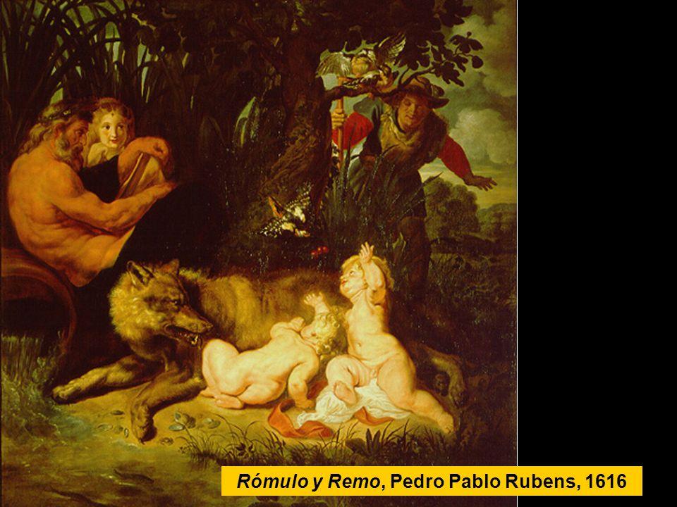 Rómulo y Remo, Pedro Pablo Rubens, 1616