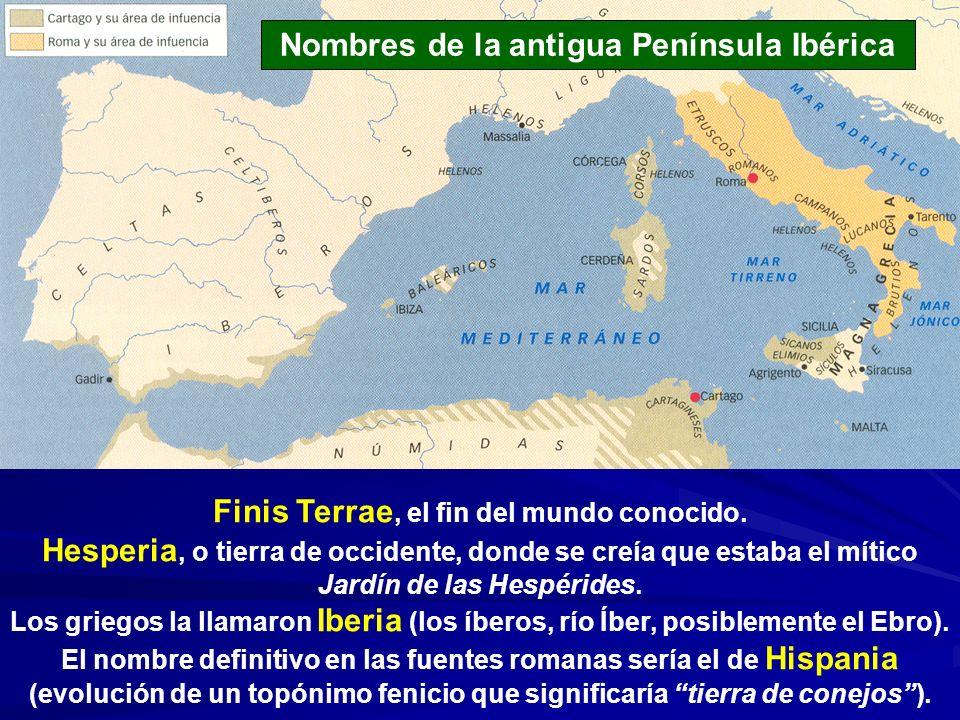 Finis Terrae, el fin del mundo conocido. Hesperia, o tierra de occidente, donde se creía que estaba el mítico Jardín de las Hespérides. Los griegos la