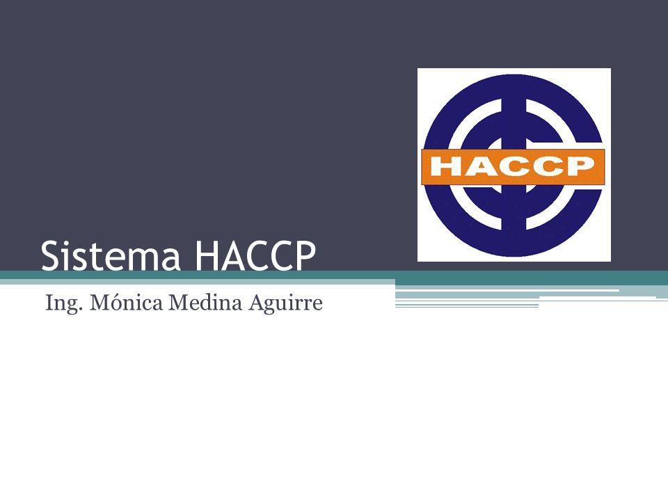 Sistema HACCP Ing. Mónica Medina Aguirre