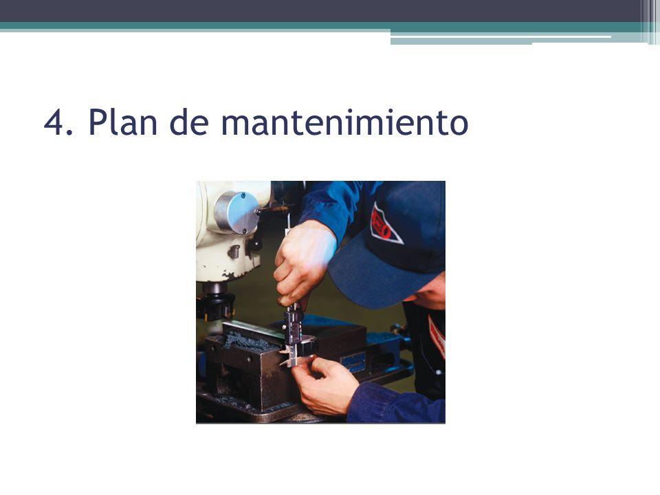 4. Plan de mantenimiento