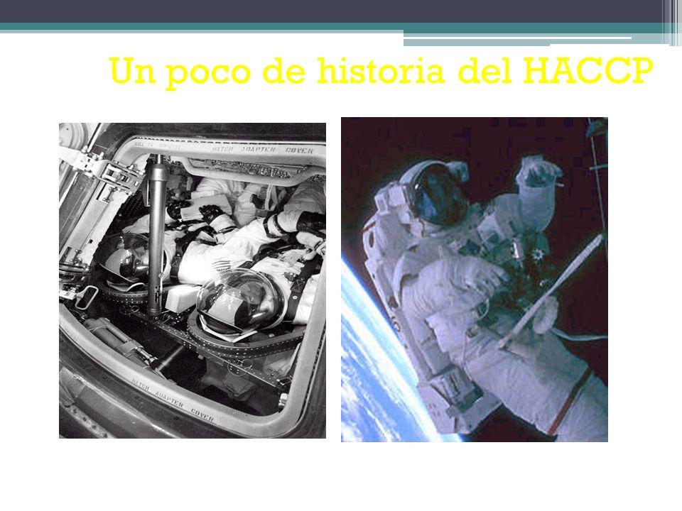 El origen del sistema HACCP (Análisis de Peligros y Puntos de Control Críticos ) se sitúa en el año 1959.