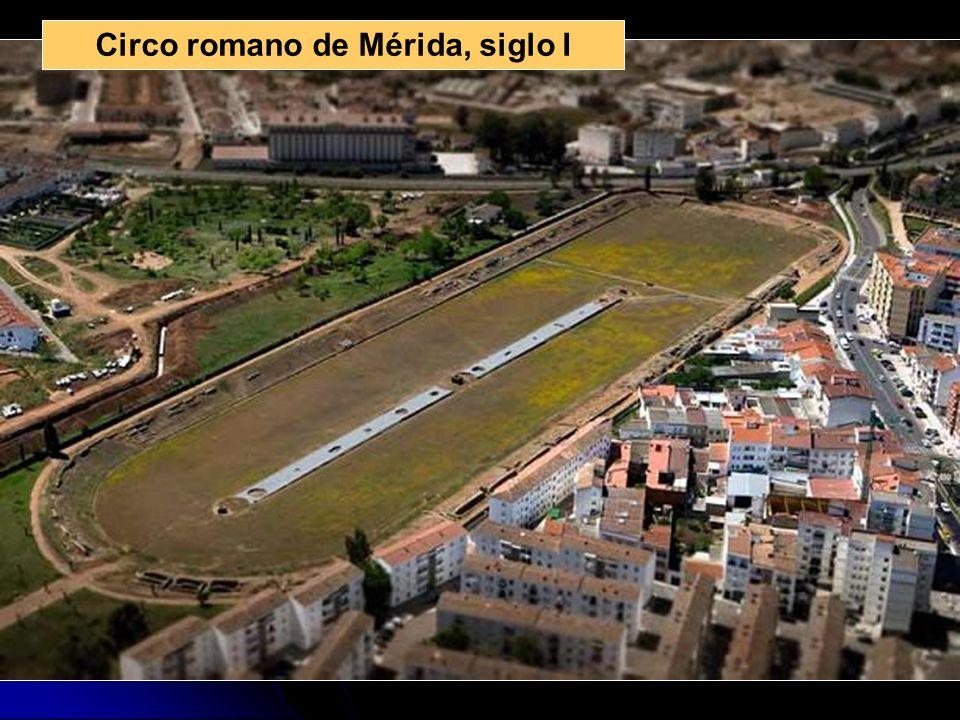 Circo romano de Mérida, siglo I