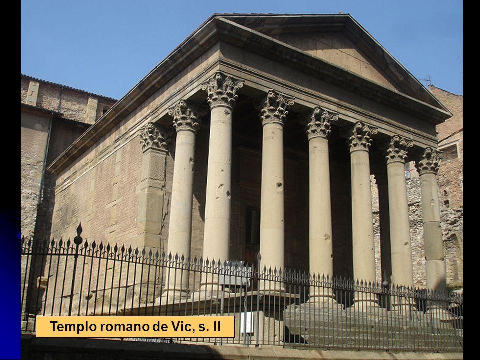 Templo romano de Vic, s. II