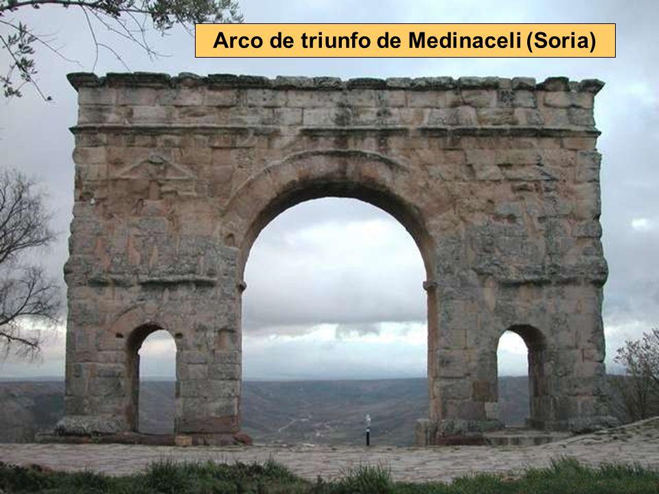 Arco de triunfo de Medinaceli (Soria)