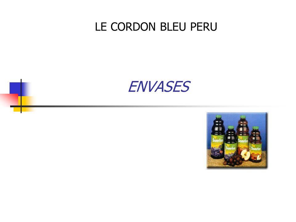 ENVASES LE CORDON BLEU PERU