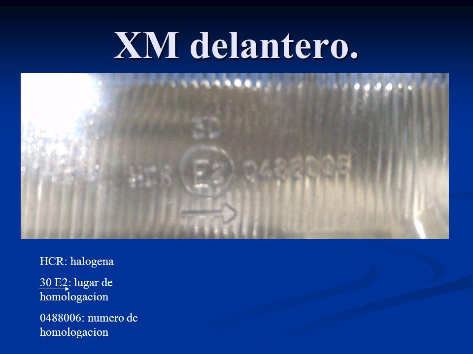 XM trasero II.