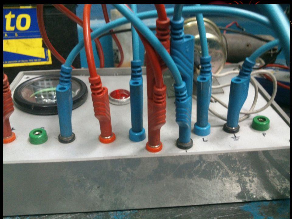 INDICADOR 4 Sensor de temperatura de agua Valores: Temperatura (ºC) Resistencia (ohmios) 40 3.15K 85 400 130 50