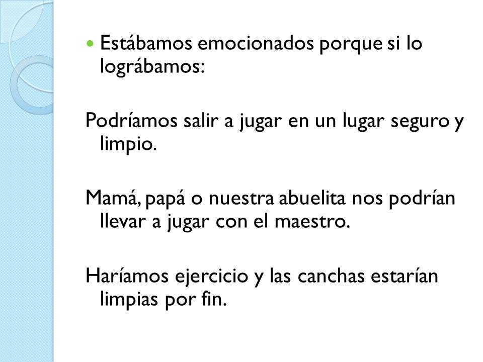 Etapa 3: Haz Nuestros maestros organizaron todo para dar las actividades, en el siguiente cronograma: