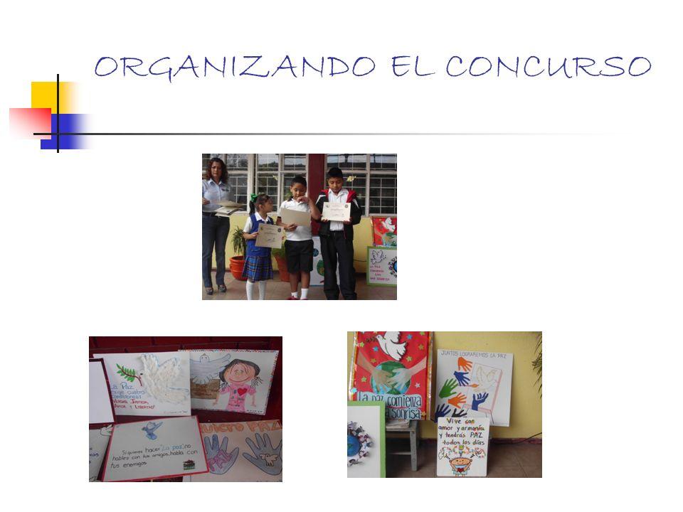 ORGANIZANDO EL CONCURSO