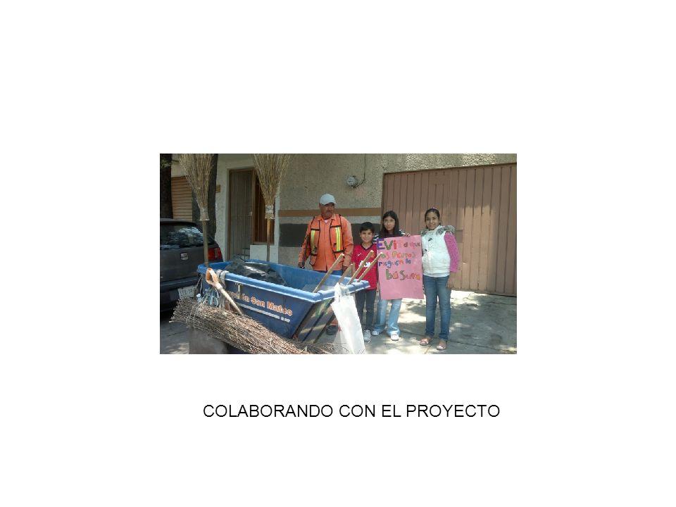 COLABORANDO CON EL PROYECTO
