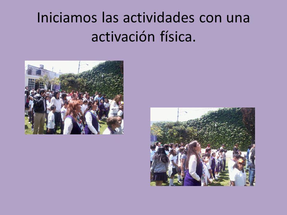 Las actividades fueron realizadas en el Colegio Algari invitando a participar a los padres de los niños. Utilizando diferentes recursos para realizar