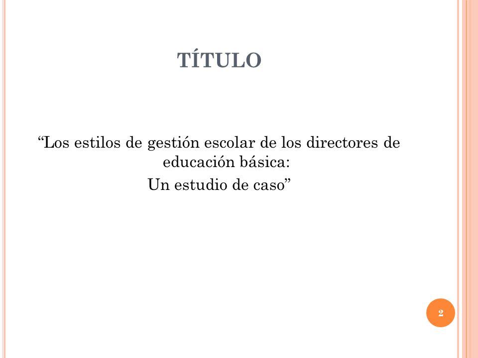 PROBLEMA DE INVESTIGACIÓN La educación básica es uno de los niveles más controvertidos y cuestionados de nuestro sistema educativo mexicano.
