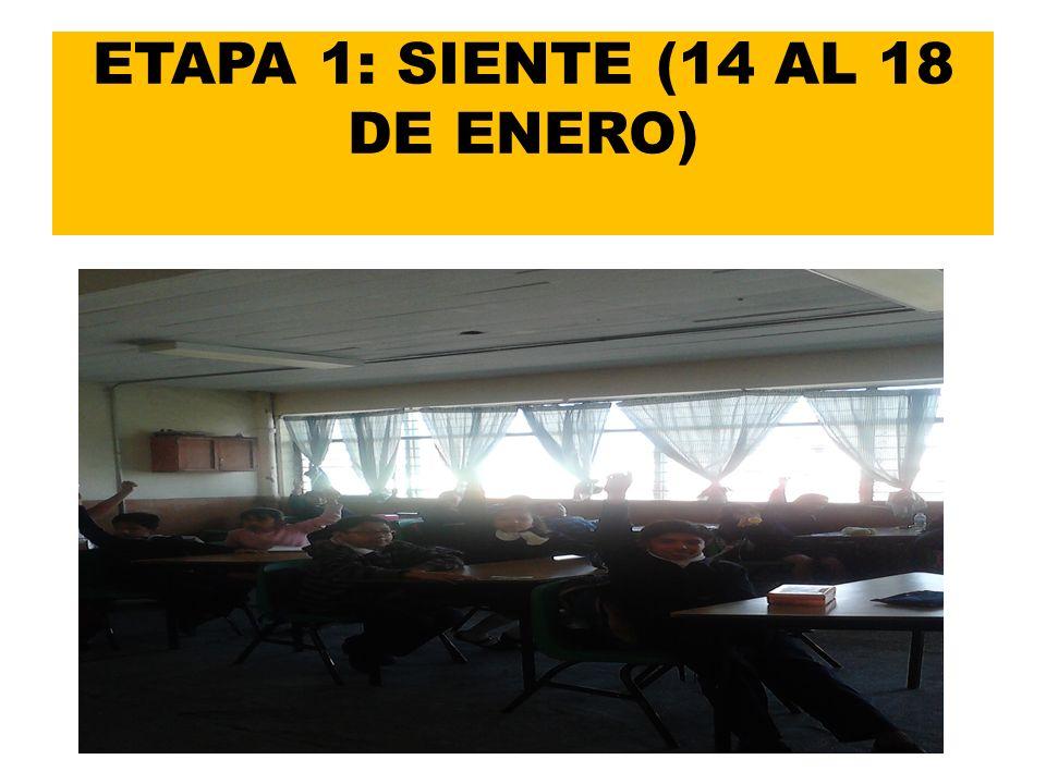 ETAPA 2: IMAGINA (DEL 21 AL 25 DE ENERO) A través de la votación, se acordó que se habilitaría una SALA DE PROYECCIONES.