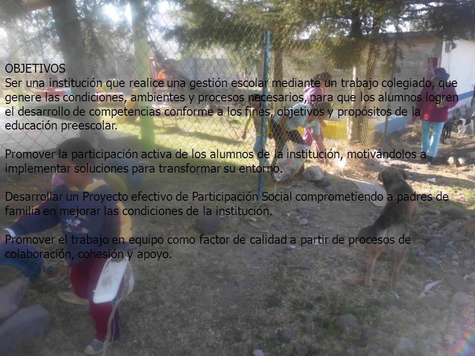 JUSTIFICACION En los alrededores del Jardín de Niños Eusebio Castro, se observan cantidades importantes de basura, que representan un foco de contamin