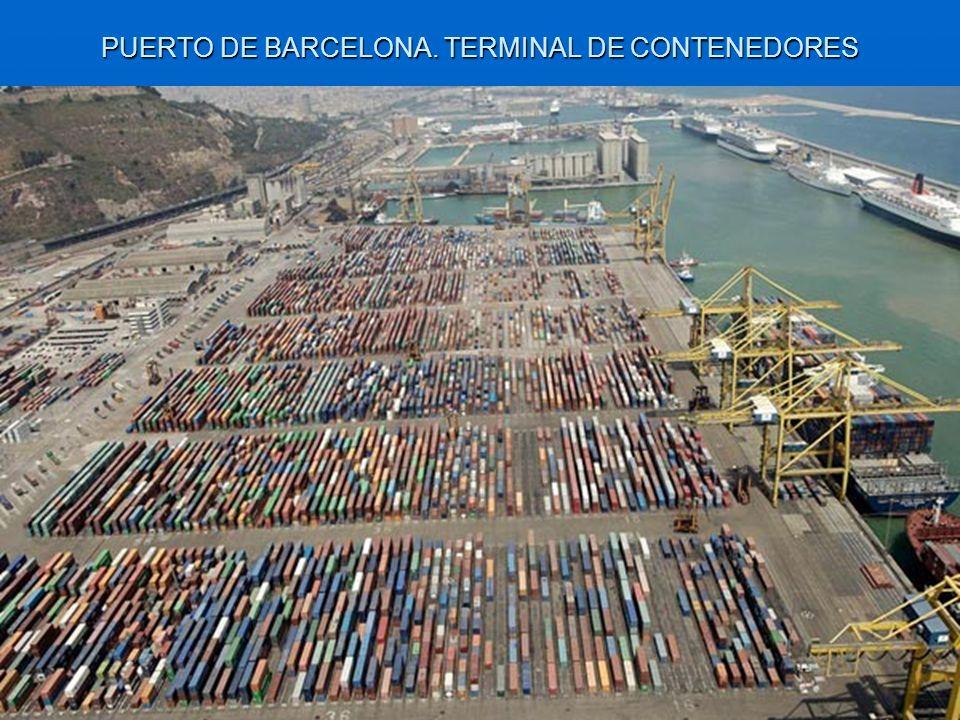 PUERTO DE BARCELONA. TERMINAL DE CONTENEDORES