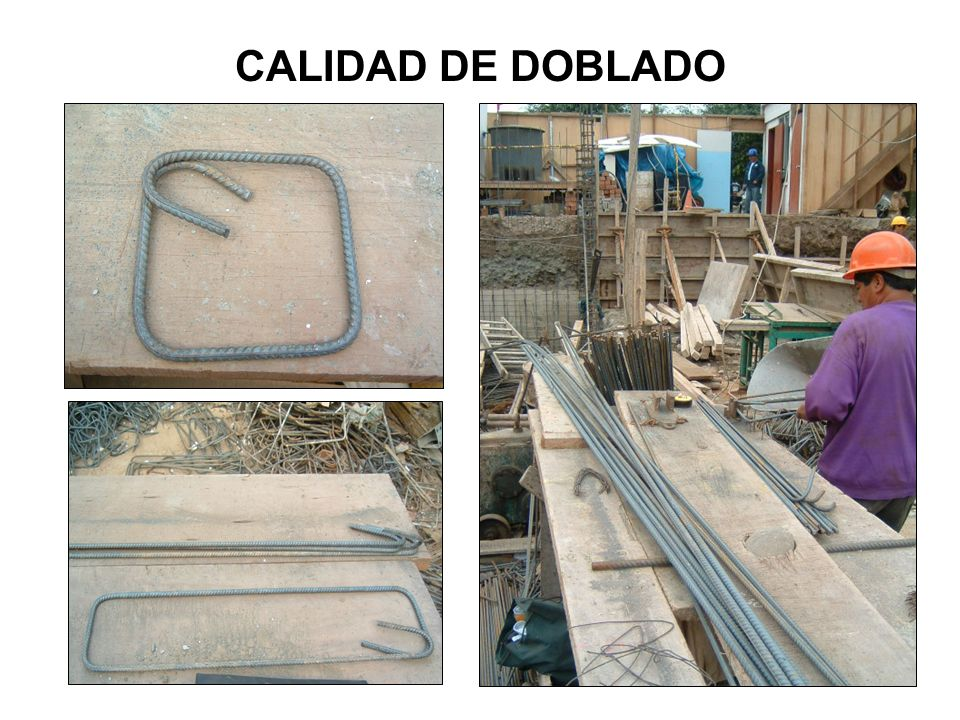 CALIDAD DE DOBLADO