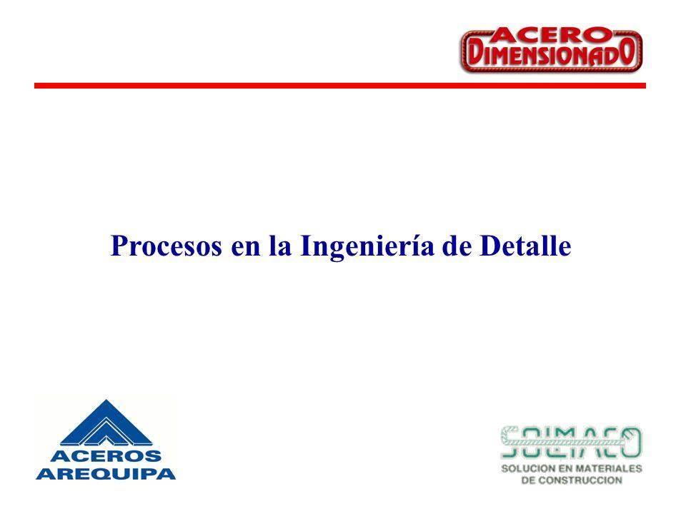 Procesos en la Ingeniería de Detalle