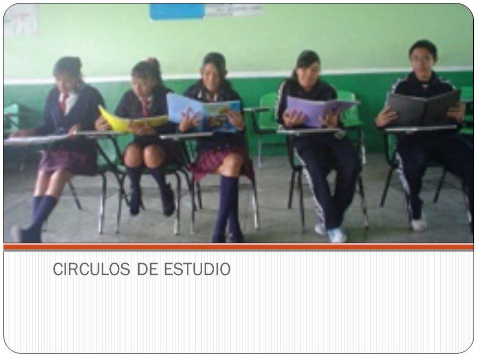 CIRCULOS DE ESTUDIO