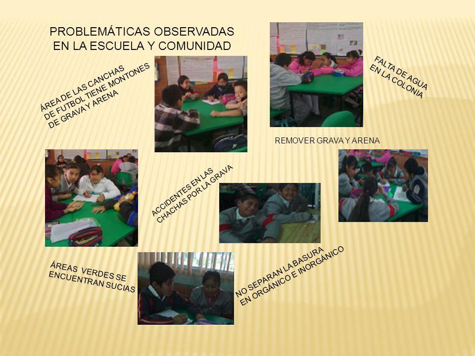 Todo el grupo participó activamente en las cuatro etapas de desarrollo del proyecto de diseña el cambio.