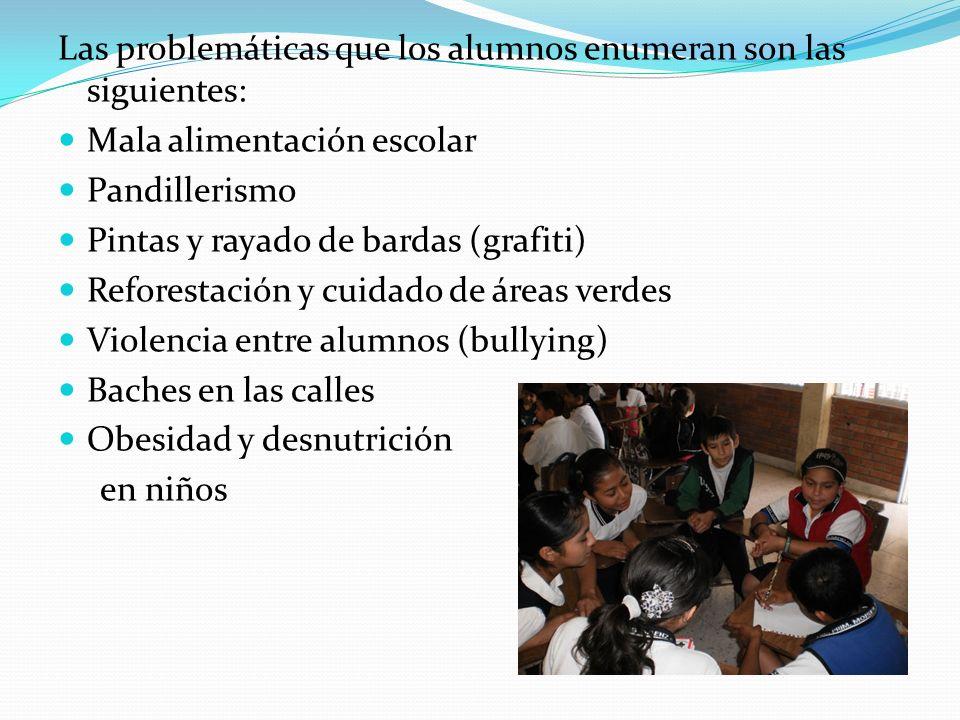 2)IMAGINA La problemática seleccionada por los alumnos para trabajar en ella fue: La reforestación y cuidado de áreas verdes.