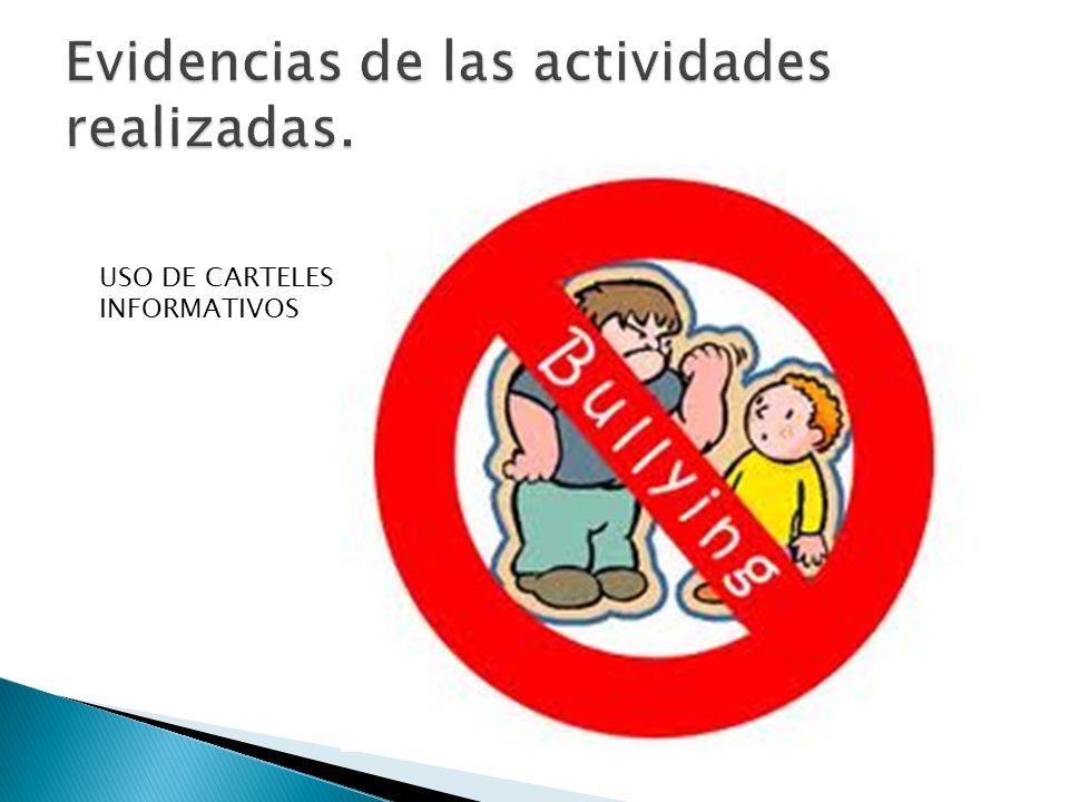 USO DE CARTELES INFORMATIVOS