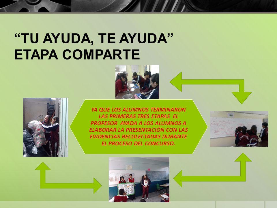 DESDE MI PUNTO DE VISTA, ME PARECE MUY IMPORTANTE QUE LAS ESCUELAS EN TODOS LOS NIVELES SE INVOLUCREN EN PROGRAMAS DE ESTE TIPO PARA QUE LOS ALUMNOS PUEDAN SER AUTOSUFICIENTES AL MOMENTO DE GENERAR IDEAS POR ELLOS MISMOS Y PARA QUE LAS LLEVEN A CABO CON LA AYUDA DE NOSOTROS COMO PADRES Y DE LOS MAESTROS.