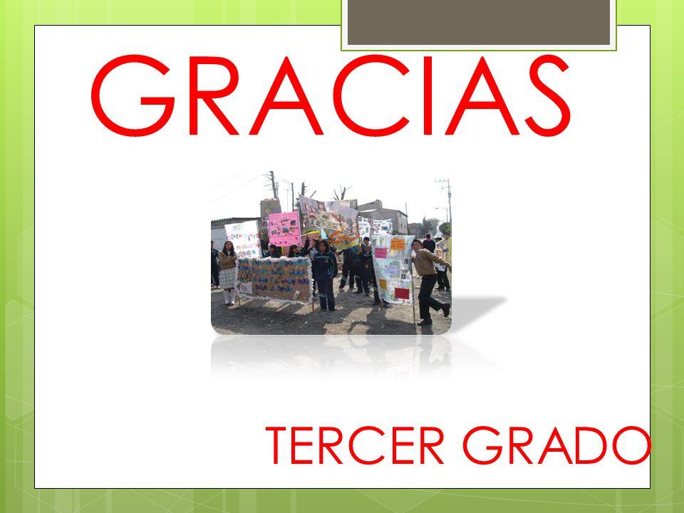 GRACIAS TERCER GRADO