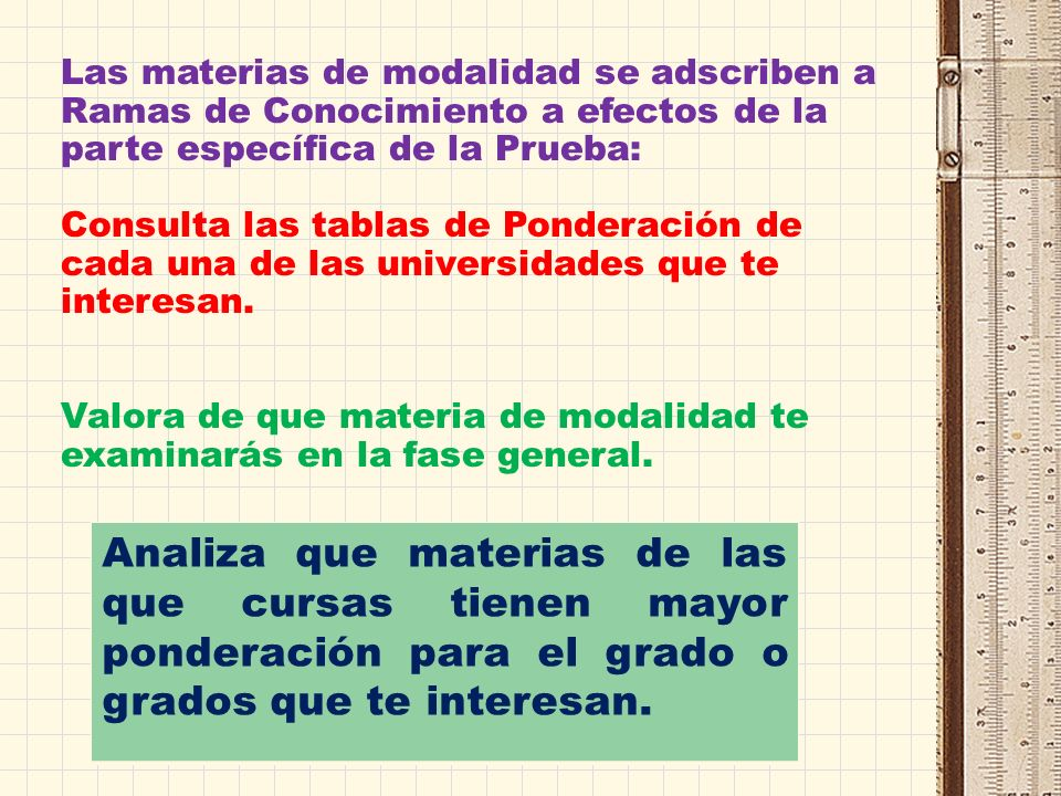 Los títulos de grado se ordenan por Ramas de Conocimiento (CADA GRADO SE ADSCRIBE A UNA SOLA RAMA, PERO DISTINTAS UNIVERSIDADES PUEDEN HACER DISTINTAS