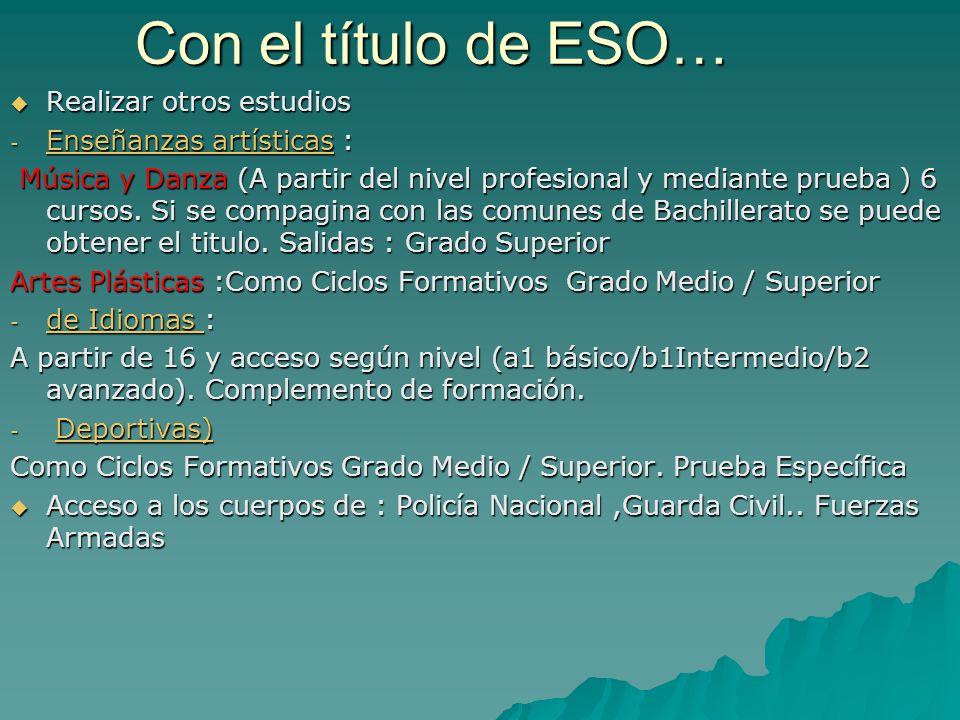 Continuamos … En otros centros de Albacete… EN ARTES Dibujo Artístico I Dibujo Artístico I Dibujo Técnico I Dibujo Técnico I Volumen Volumen Cultura Audiovisual Cultura Audiovisual