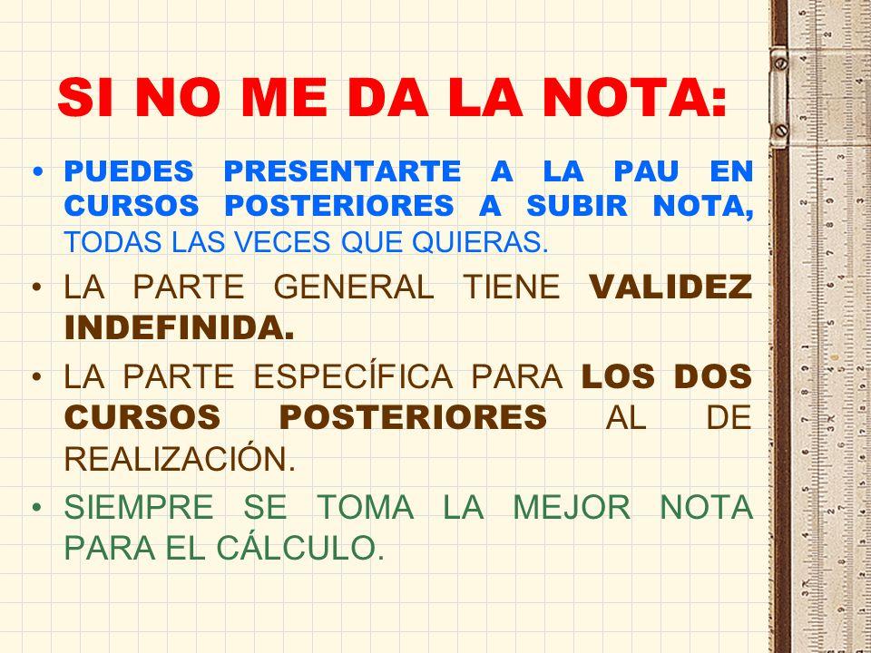 NOTAS DE CORTE Y PAU Hay titulaciones que llenan sus plazas en junio Muchas titulaciones tienen plazas libres en septiembre