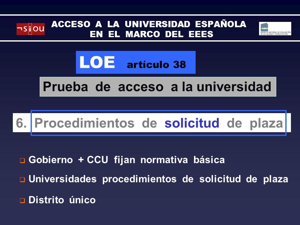 LOE artículo 38 6.