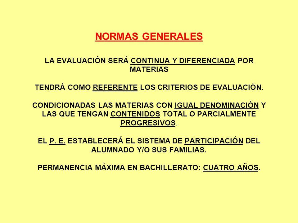 CRITERIOS DE EVALUACIÓN PÚBLICOS EL P.E.C.