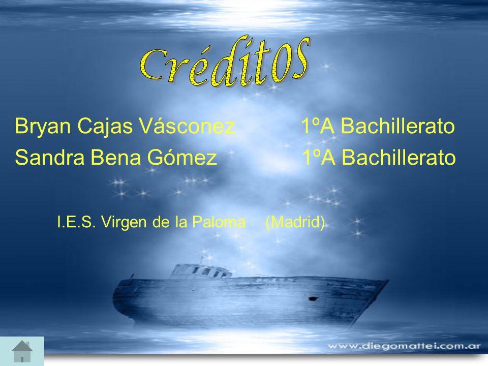 Bryan Cajas Vásconez 1ºA Bachillerato Sandra Bena Gómez 1ºA Bachillerato I.E.S. Virgen de la Paloma (Madrid)