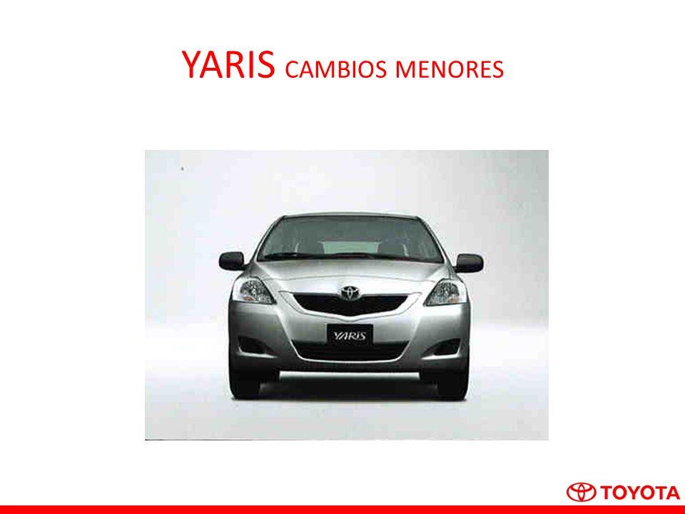YARIS CAMBIOS MENORES