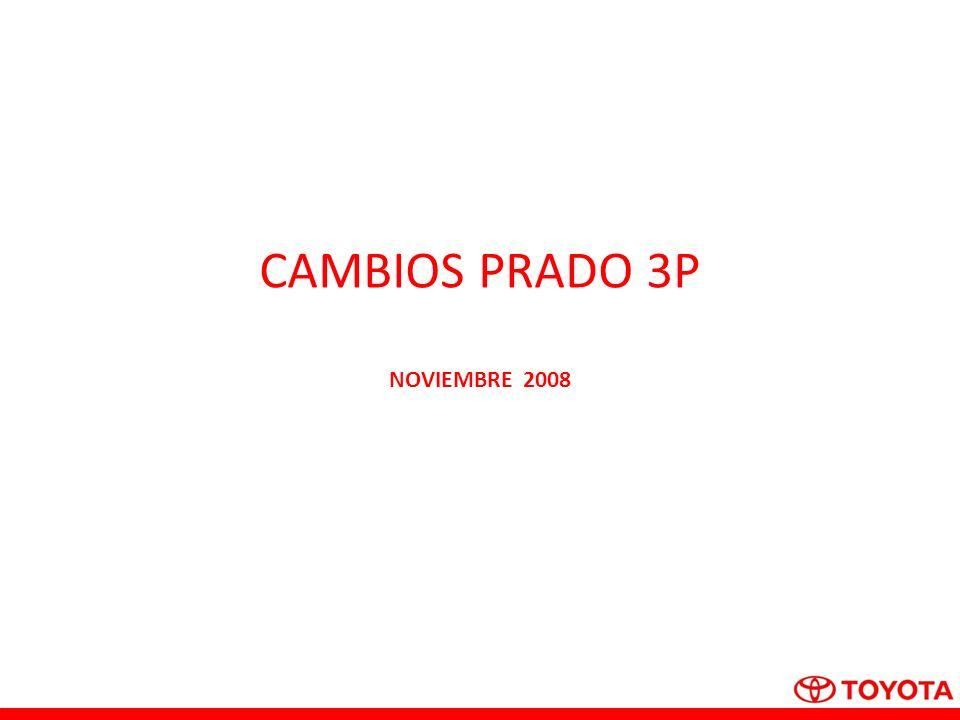 CAMBIOS PRADO 3P NOVIEMBRE 2008