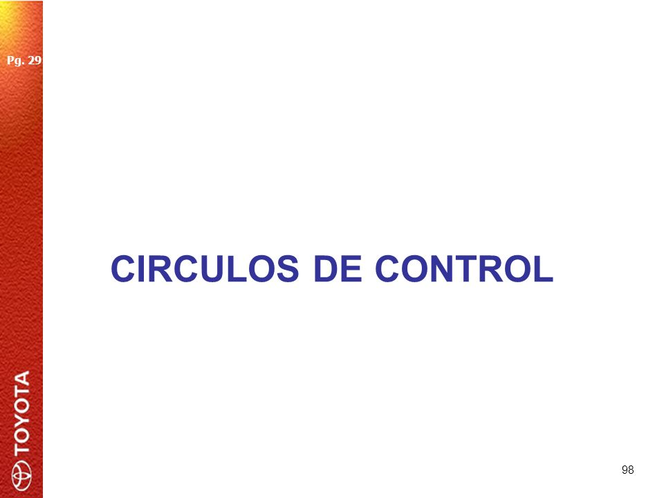 98 CIRCULOS DE CONTROL Pg. 29
