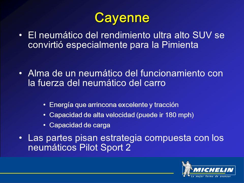 Cayenne El neumático del rendimiento ultra alto SUV se convirtió especialmente para la Pimienta Alma de un neumático del funcionamiento con la fuerza