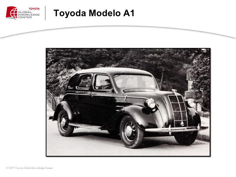 © 2007 Toyota Global Knowledge Center Toyoda Modelo A1