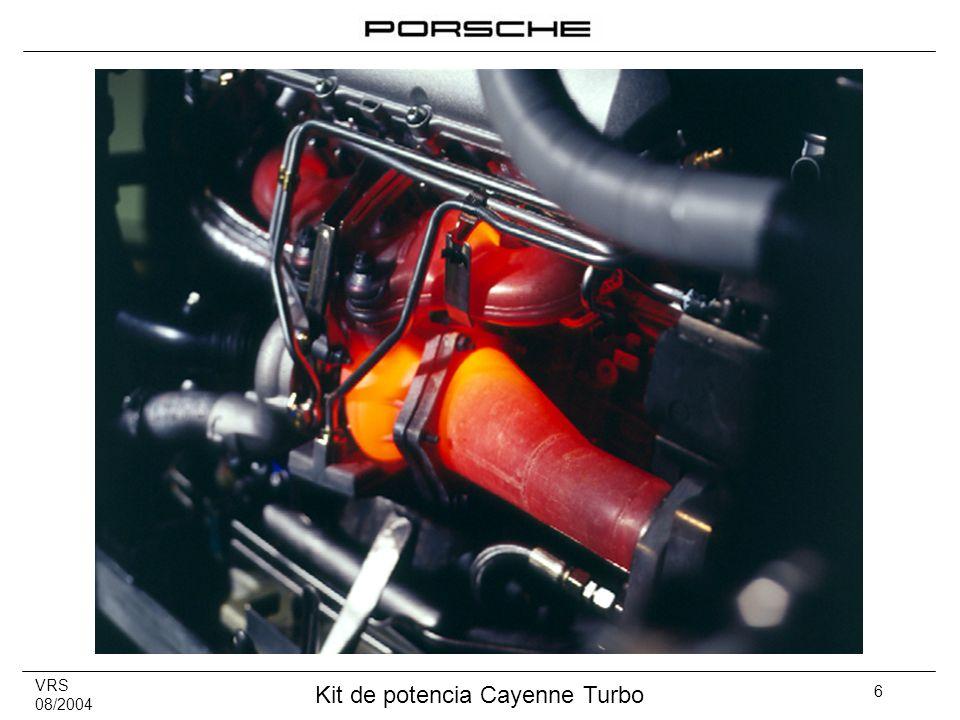 VRS 08/2004 Kit de potencia Cayenne Turbo 17 7.Comunicación Guía de pedido Cayenne mod.