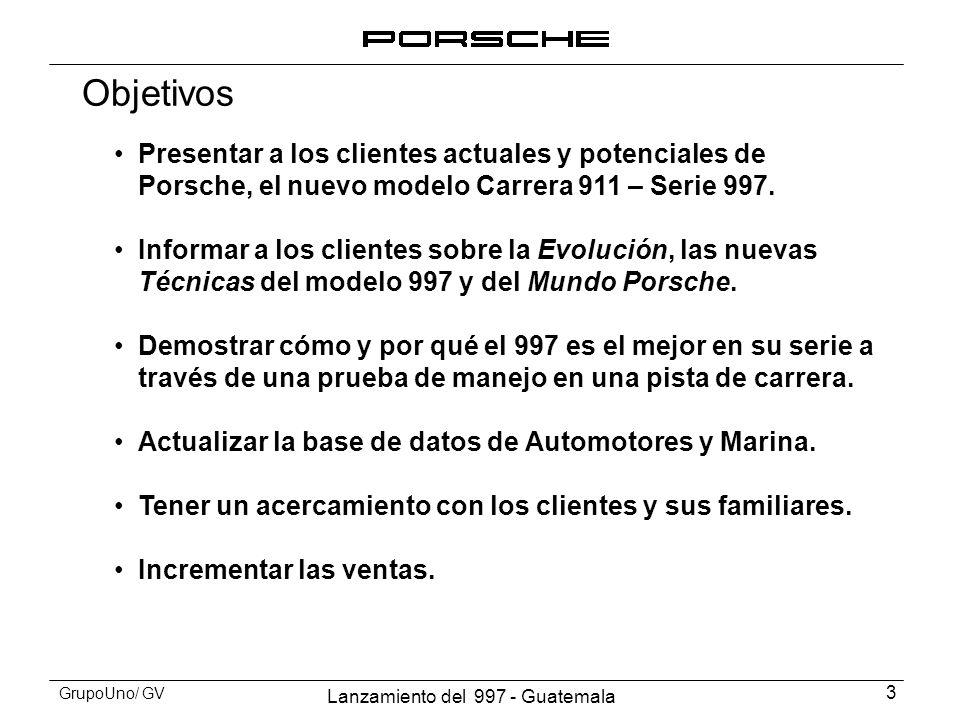 Lanzamiento del 997 - Guatemala 4 GrupoUno/ GV Invitados Automotores y Marina invitó a sus clientes actuales, así como también a los miembros del Porsche Club.