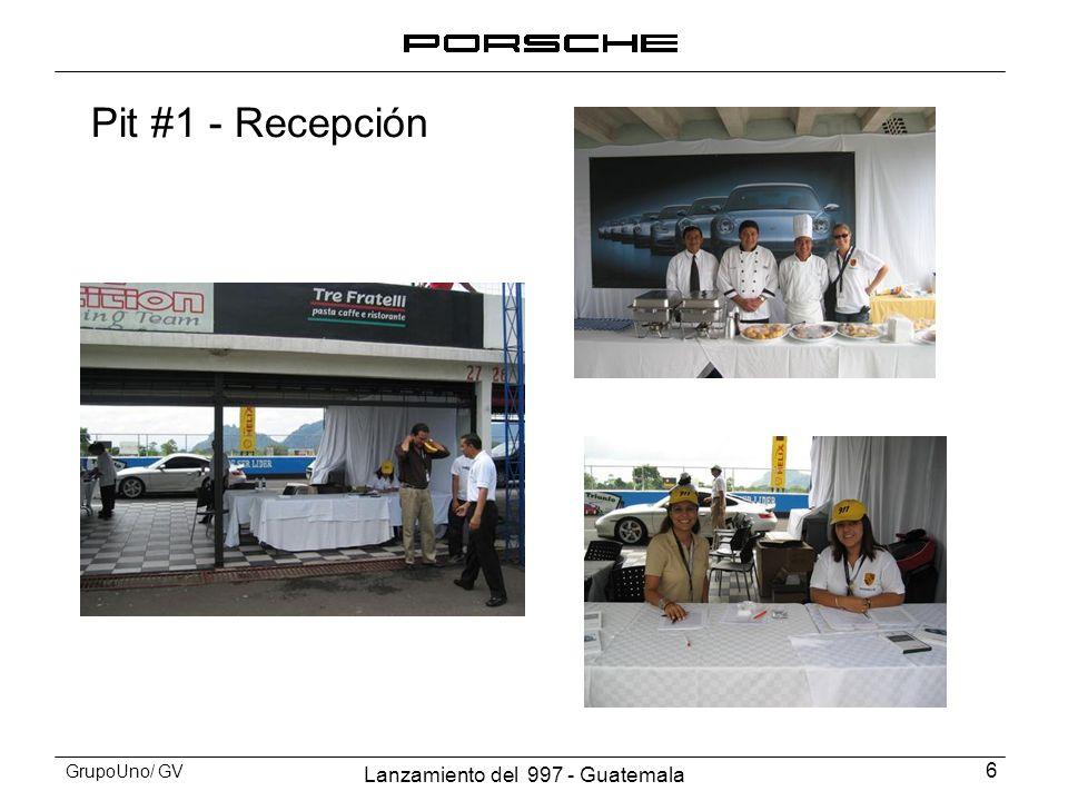 Lanzamiento del 997 - Guatemala 17 GrupoUno/ GV Prueba de Manejo