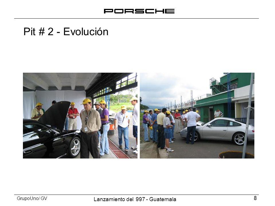 Lanzamiento del 997 - Guatemala 9 GrupoUno/ GV Pit # 2 - Evolución