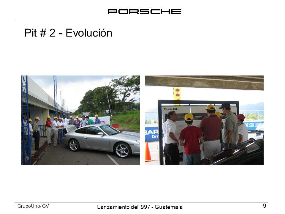 Lanzamiento del 997 - Guatemala 10 GrupoUno/ GV Pit # 2 - Evolución