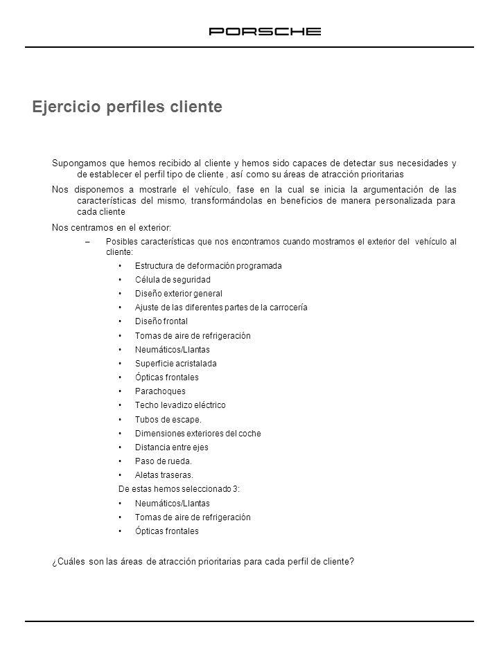 Ejercicio perfiles cliente PERFIL 1 –Arturo García del Nido.