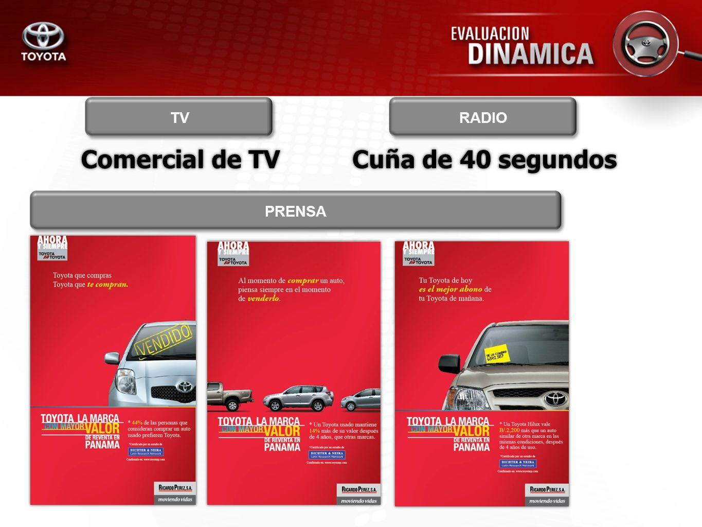 Comercial de TV TV Cuña de 40 segundos RADIO PRENSA